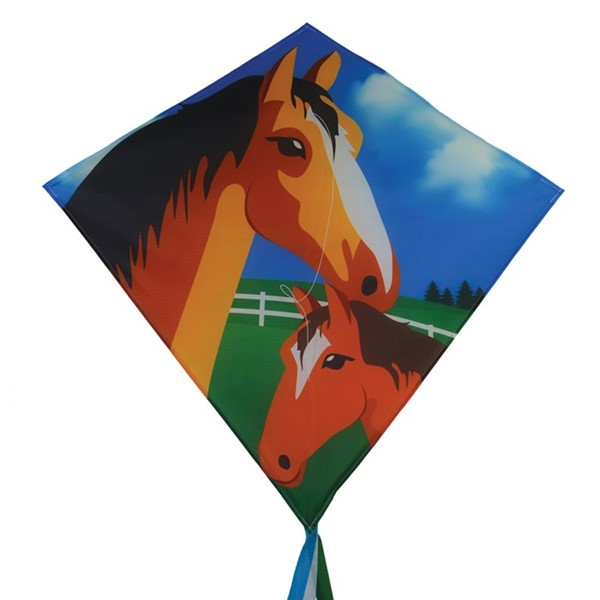 "View Mare & Foal 30"" Diamond Kite"