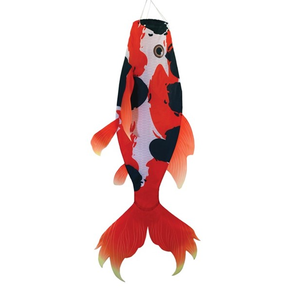 "View Realistic Koi 48"" Fish Windsock"