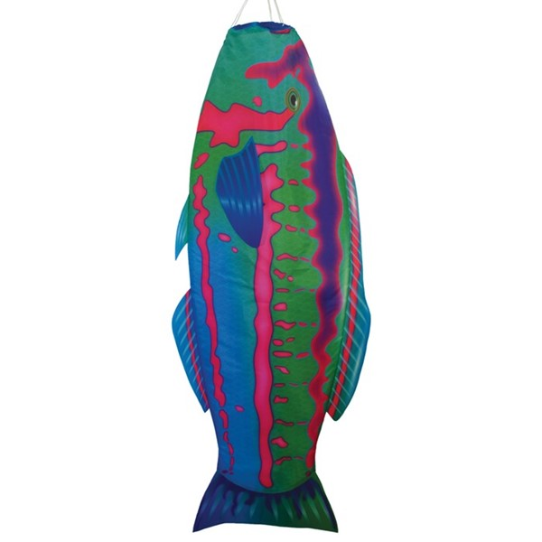 "View Rainbow Wrasse 48"" Fish Windsock"