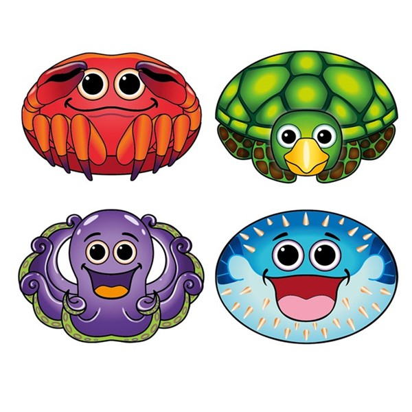 View Sea Creatures MicroKite 24 PC Assortment