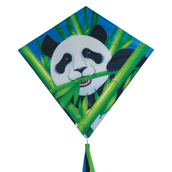 "View Panda 30"" Diamond Kite (Optimized for Shipping)"