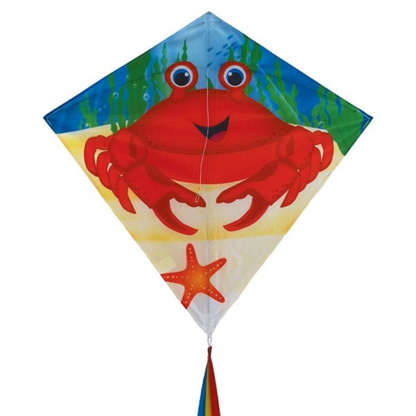 "View Crab 30"" Diamond Kite (+)"