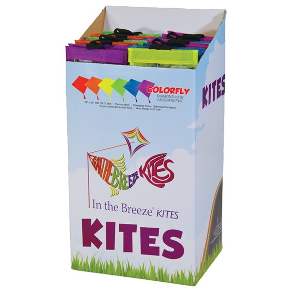 View Colorfly Diamond Kite 24PC Display