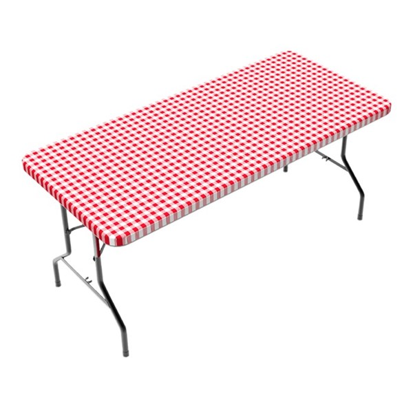 View Checkerboard 6' Tablecloth