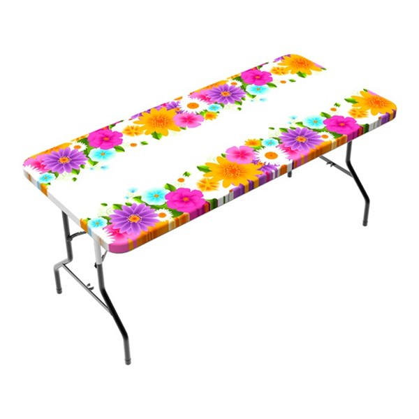 View Spring 6' Tablecloth