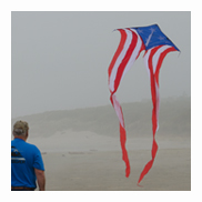 Flowing Patriot Kite
