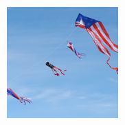 Patriot Kite with Line Laundry