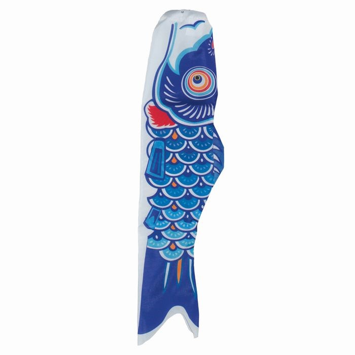 24 inch blue koi in the breeze for Blue ribbon koi